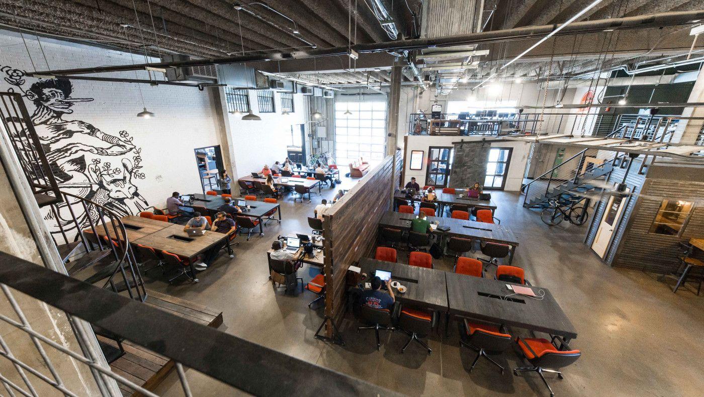 Deep Ellum Coworking Space Coworking Coworking Space Inspiring Spaces