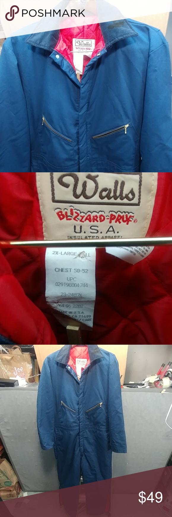 walls insulated mens coveralls xxl tall walls insulated on walls insulated coveralls id=98700