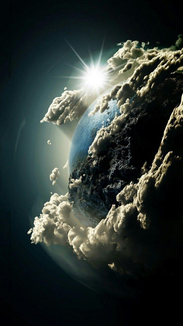 world thru hubble lens