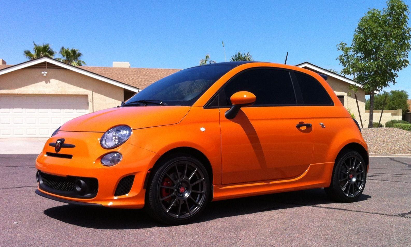 Super Fiat 500 Abarth in Orange - Great Colour! | Cars | Pinterest  AJ83