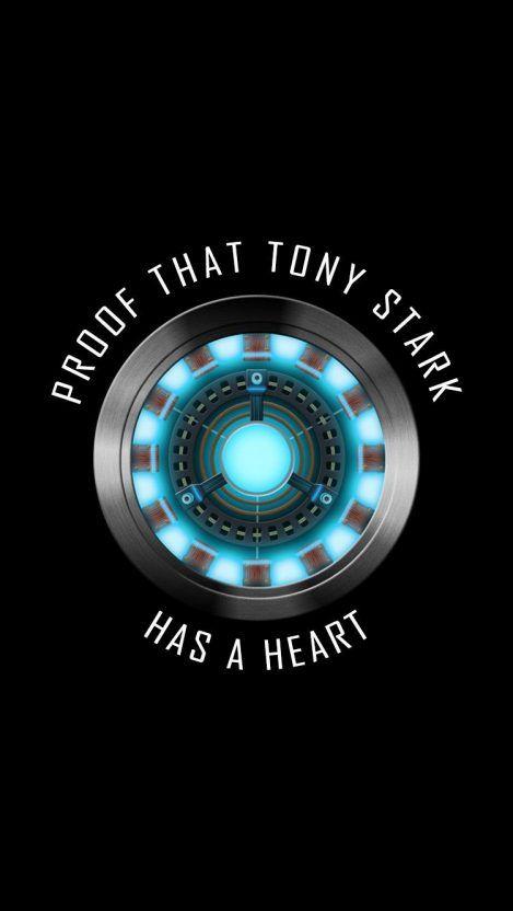 buat status keren  proof that tony stark has a heart marvel wallpaper marvel