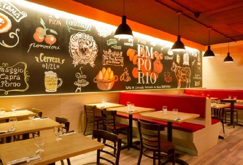 decoracion de restaurantes de pizzas buscar con google