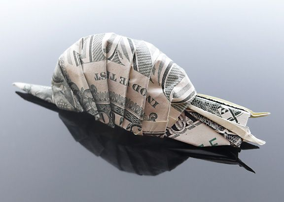 Dollar Bill Snail by ~craigfoldsfives on deviantART