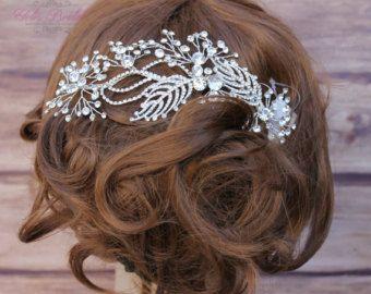 Bridal Hair Comb Wedding Hair Comb Crystal Hair от YolisBridal