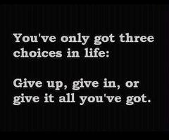 3 choices