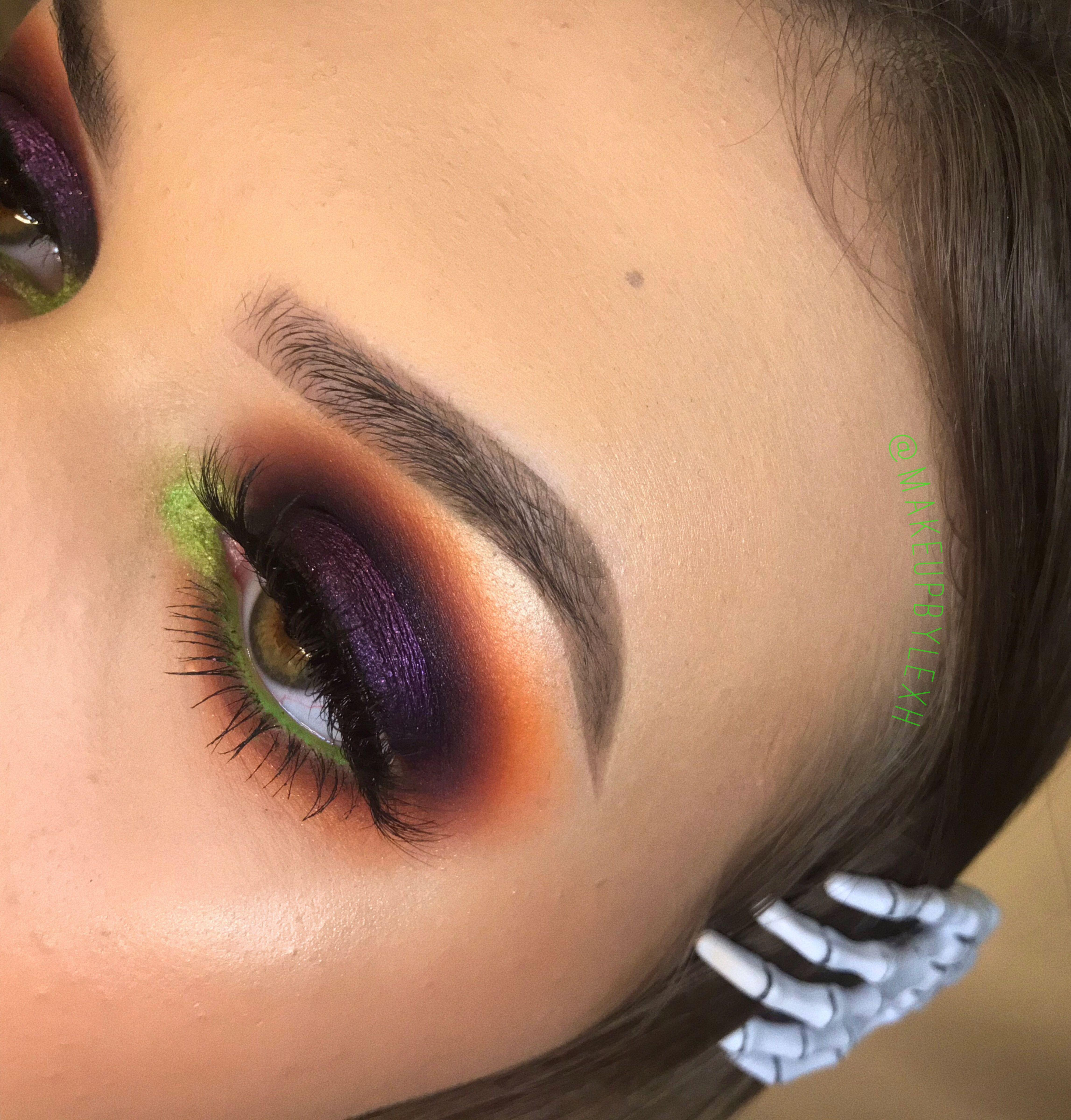 Halloween Inspired Eye Makeup.Pin On Hallowen Otono