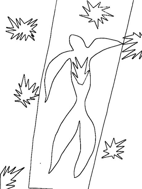 Posters para colorear: Ícaro, de Henri Matisse | Arte | Pinterest ...