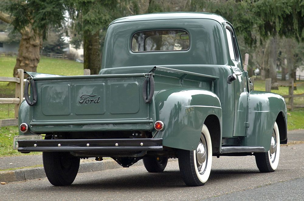 Bonus Built 1949 Ford F1 Pickup With Images Ford Pickup