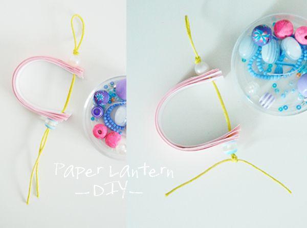 DIY Paper lantern - Bohème Circus