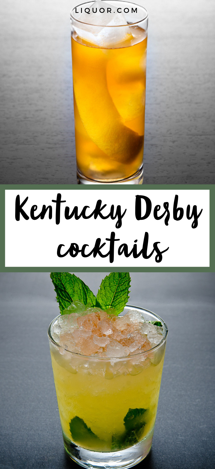 25 Cocktails for Derby Day   Kentucky derby drinks, Mint julep ...
