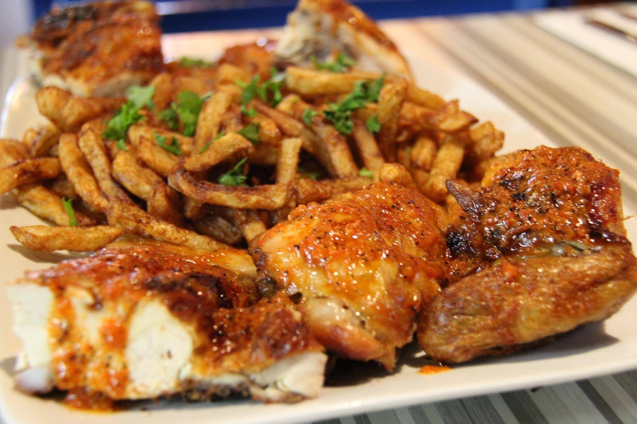 Un poulet portugais comme au Restaurant Bastos - Recettes - Recettes simples et géniales! - Ma Fourchette - Délicieuses recettes de cuisine, astuces culinaires et plus encore!