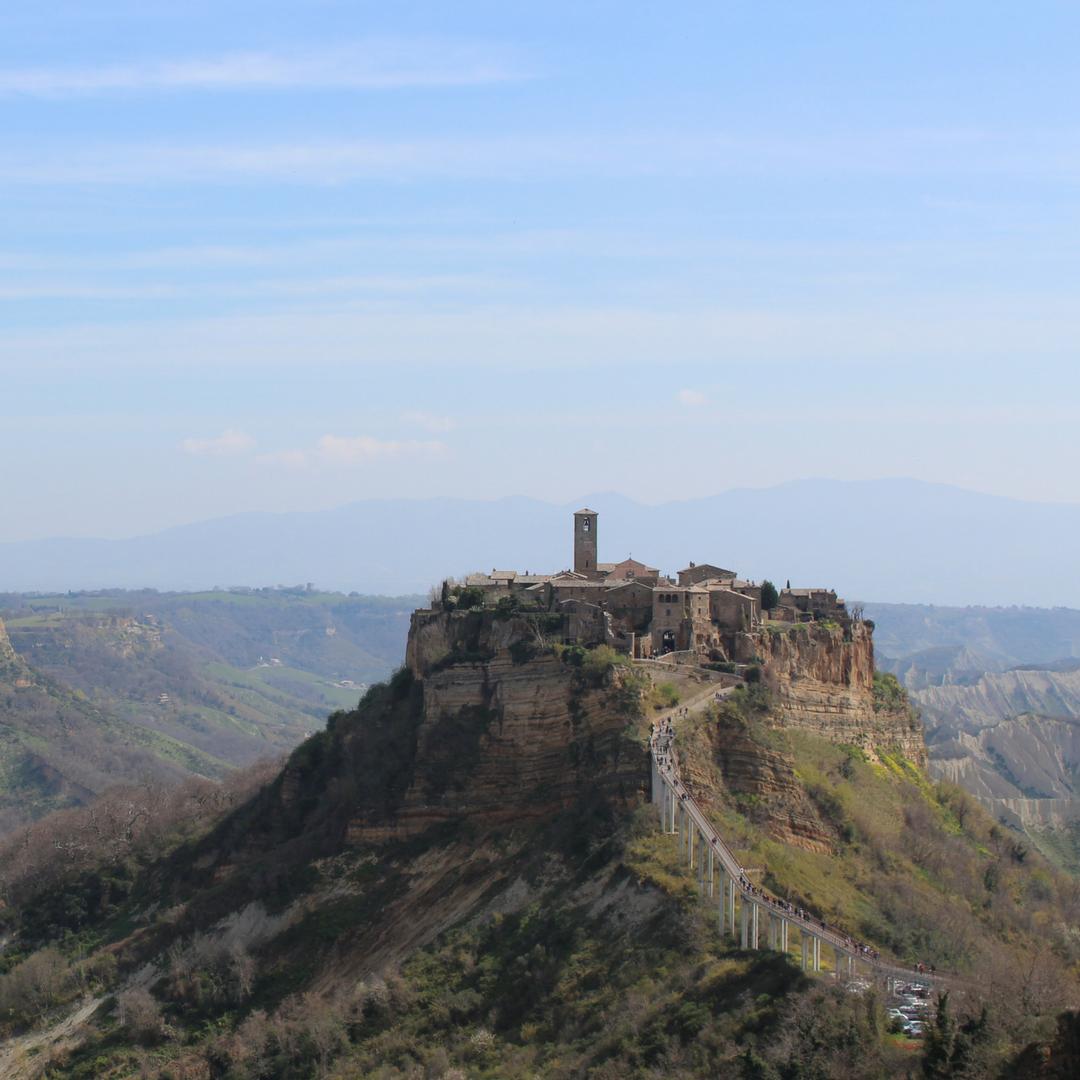 Civita di Bagnoregio (Viterbo), one of the most caratheristic town of Orvieto's surrounding.