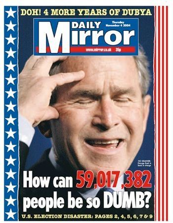 Daily Mirror 2004 | Newspaper cover, Newspaper front pages, Political events