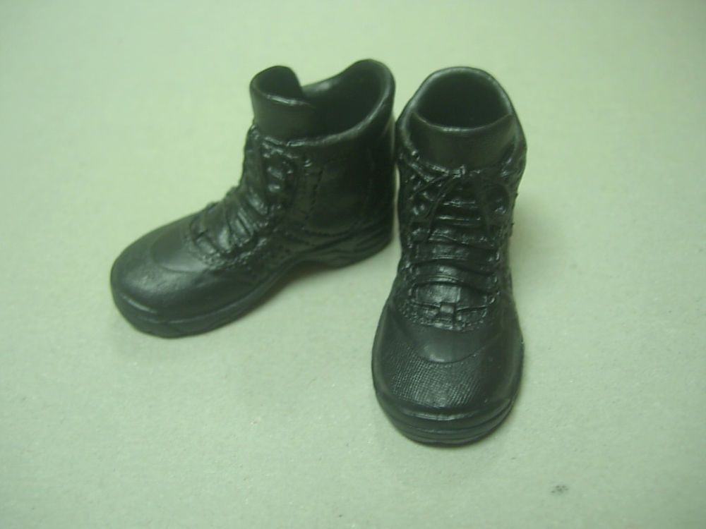 1:6 Female Shoes Combat Boots for 12/'/' Soldier Figure Body Accessories Green