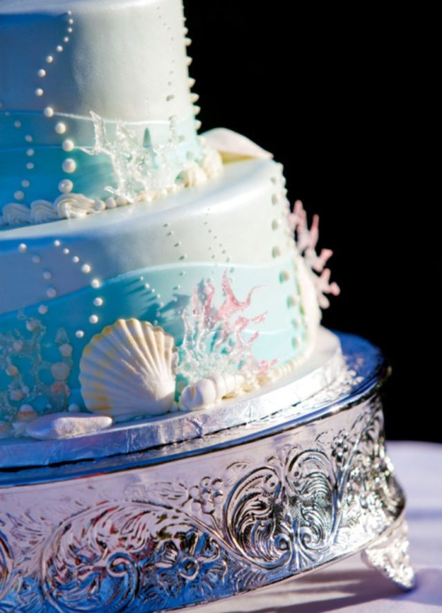 Make this Little Mermaid cake a part of your world.