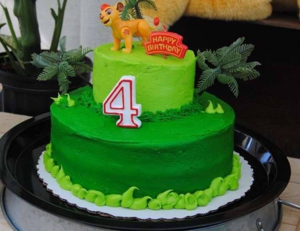 Lion Guard Birthday Kasens 4th birthday Lions Birthdays and