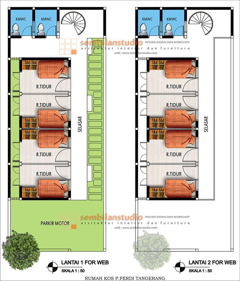 Denha Rumah Kos Di Laahan Memanjang Desain Rumah Desain Rumah