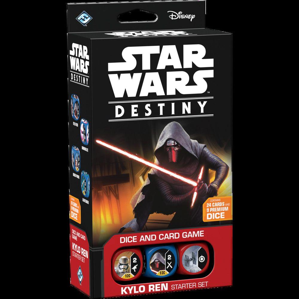 Star Wars Destiny Kylo Ren Starter Deck New Sealed Ready To Ship Destiny Star Wars Games Kylo Ren