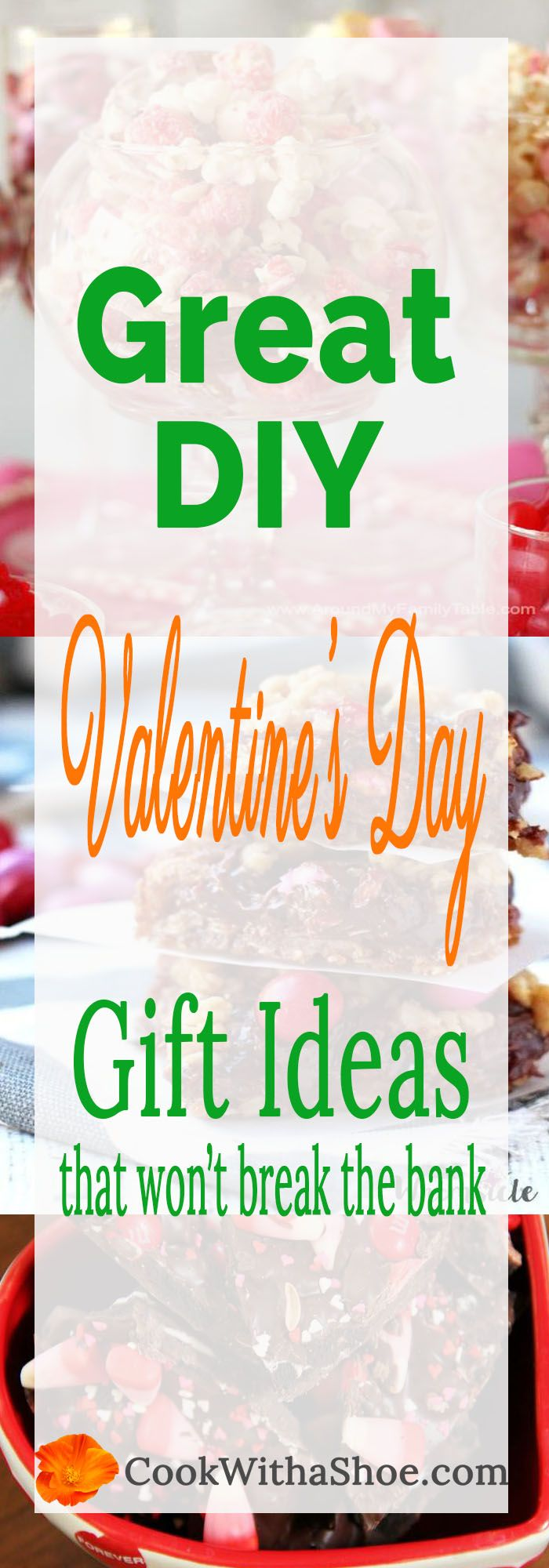 These gifts are so easy and cheap to make!  Check out these ahhh-mazing Valentine gift ideas today!