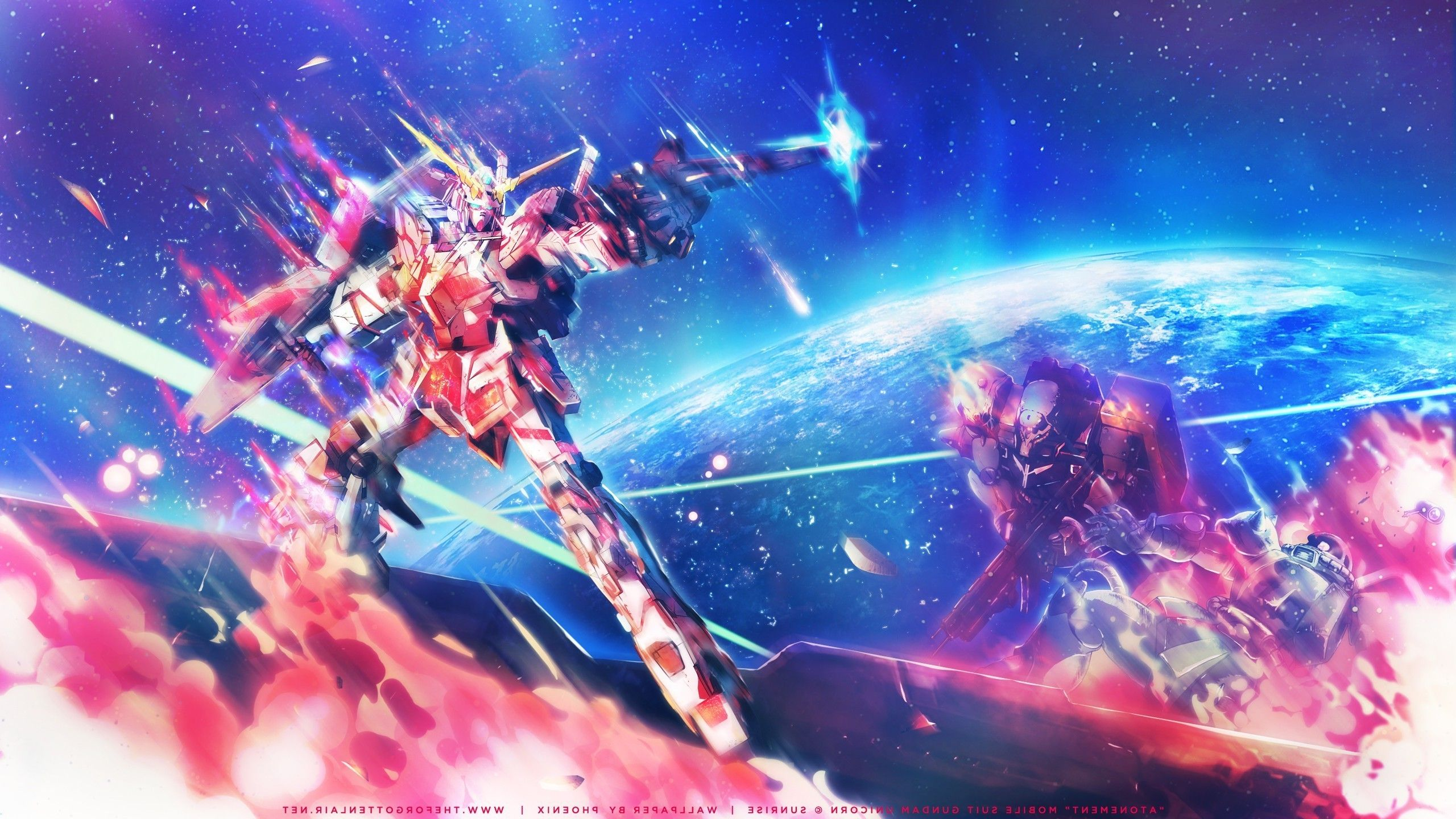2560x1440 Mobile Suit Gundam Unicorn Mech Mobile Suit Gundam Gundam Wallpapers Hd Desktop And Mobile Unicorn Wallpaper Anime Wallpaper Gundam Wallpapers