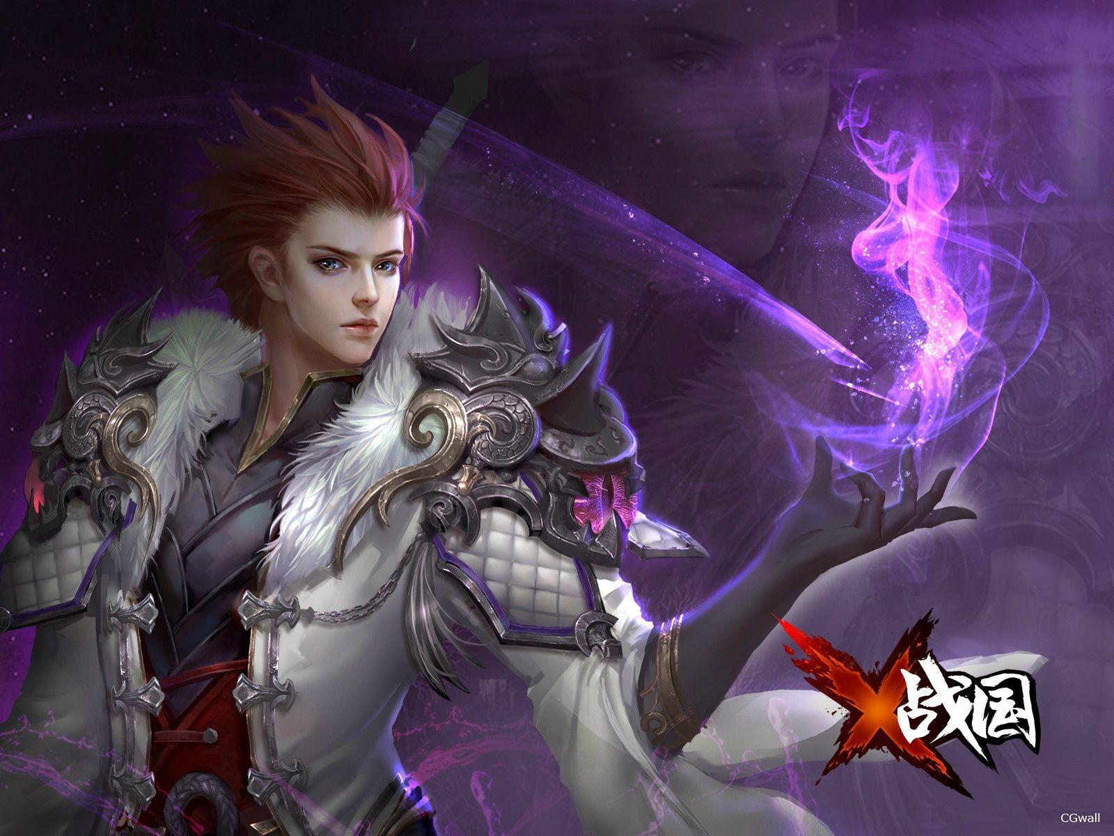 CGwall游戏原画网站_法师角色半身像
