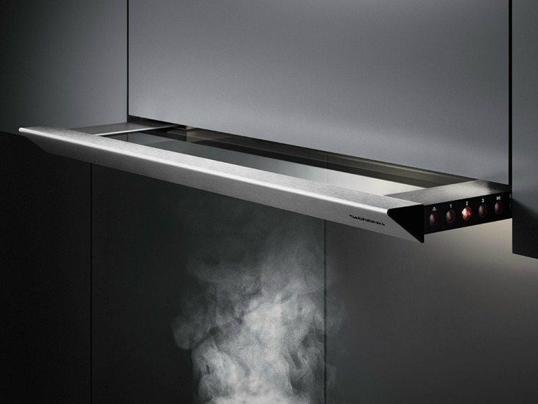 Hotte Encastrable Tiroir Ah  Collection Ah By Gaggenau  Cuisine