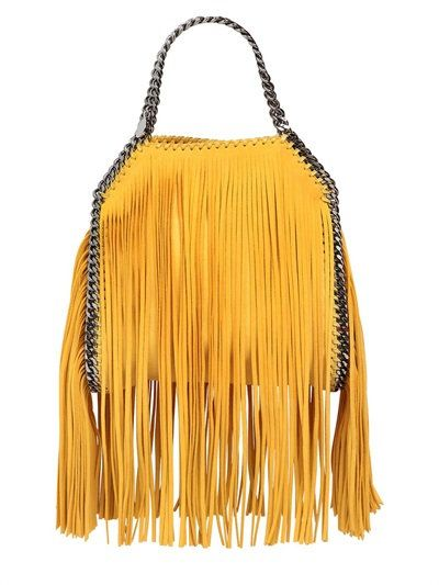 02779687ce6e STELLA MCCARTNEY MINI 3CHAIN FALABELLA FRINGED BAG