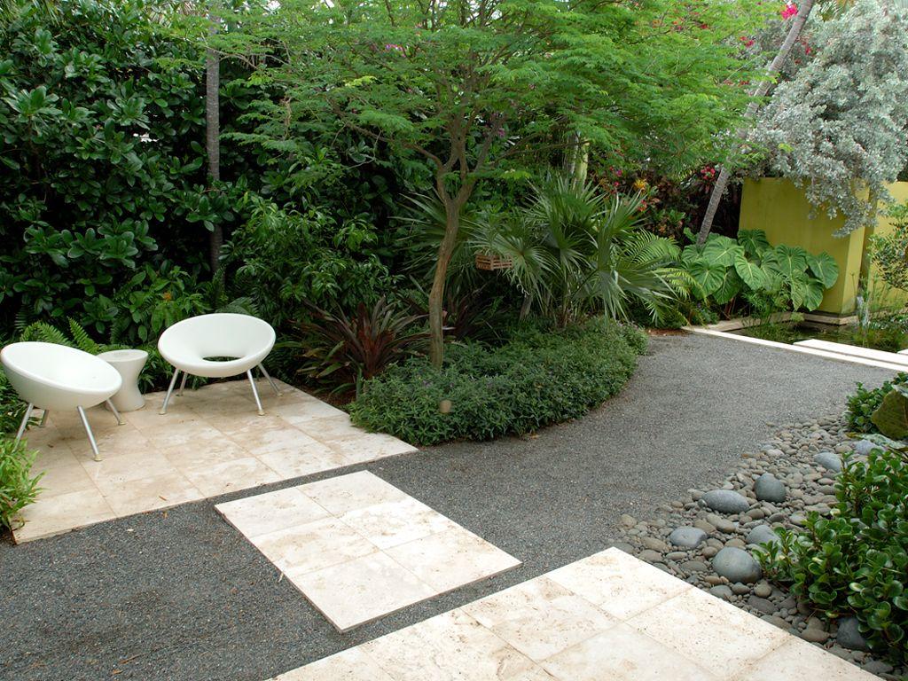 Follaje con superficies permeables?, o pasto?