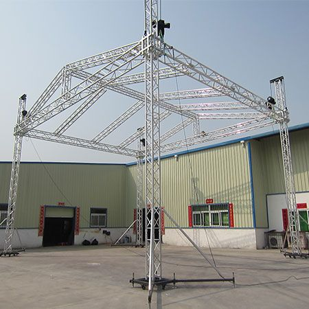 Aluminum Roof Truss Roof Truss System Stage Roof Truss Floor Roof Truss System Lighting Roof Truss Roof Trusses Aluminum Roof Roof Structure