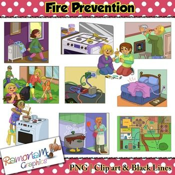 Fire Prevention Clip Art Safety Fire Fire Prevention