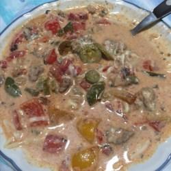 Creamy Keto Taco Soup with Ground Beef #groundbeeftacos