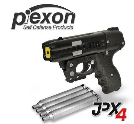 JPX4 4 Shot Pepper Gun with Laser