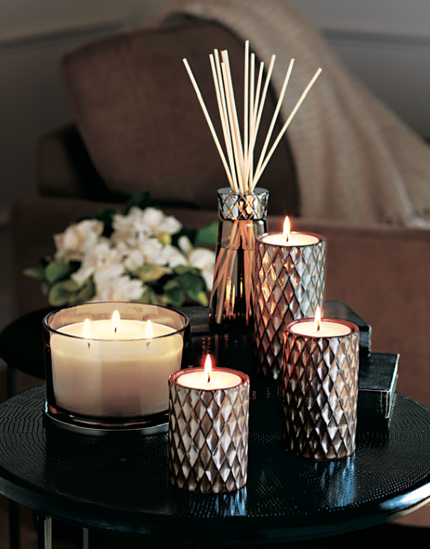 Partylite signature elevated tealight trio http www for Partylite dekoration