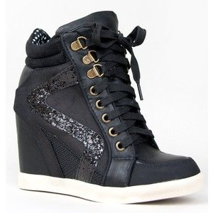 Wedge Sneaker Heels