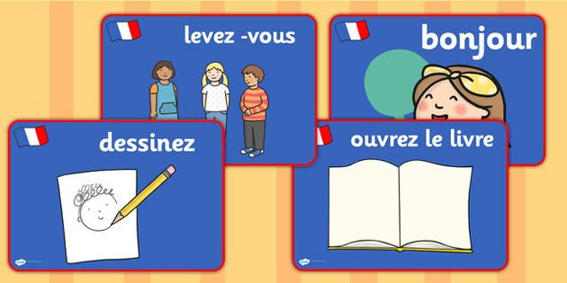 French Classroom Commands Posters Classroom Commands French Classroom Classroom