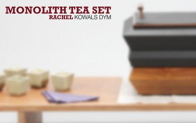 Monolith tea set