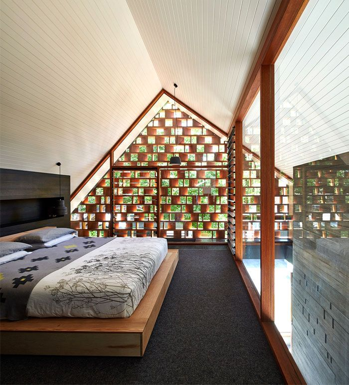 MAKE Architects Designed A Unique And Full With Light Local House