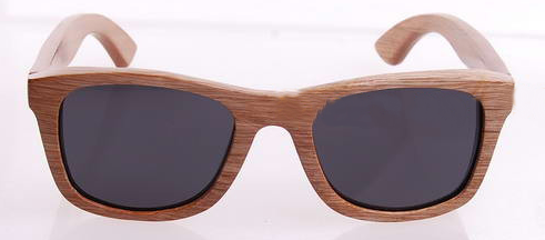 Virkelig smart solbriller i fuld bambus stel og med uv400 beskyttende linser