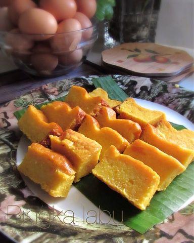 Masak Makan Bingka Labu Resep Masakan Malaysia Resep Labu Kuning Resep Makanan