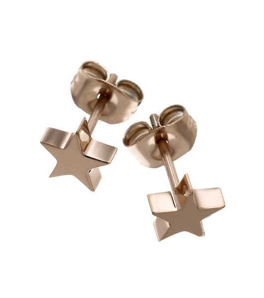887c76389 Edblad ear studs   edblad   Star earrings, Rose gold, Gold
