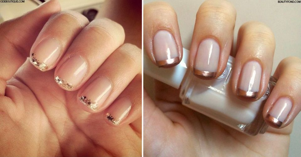 New-Gen French Manis   Beauty nails, Manicure and Makeup