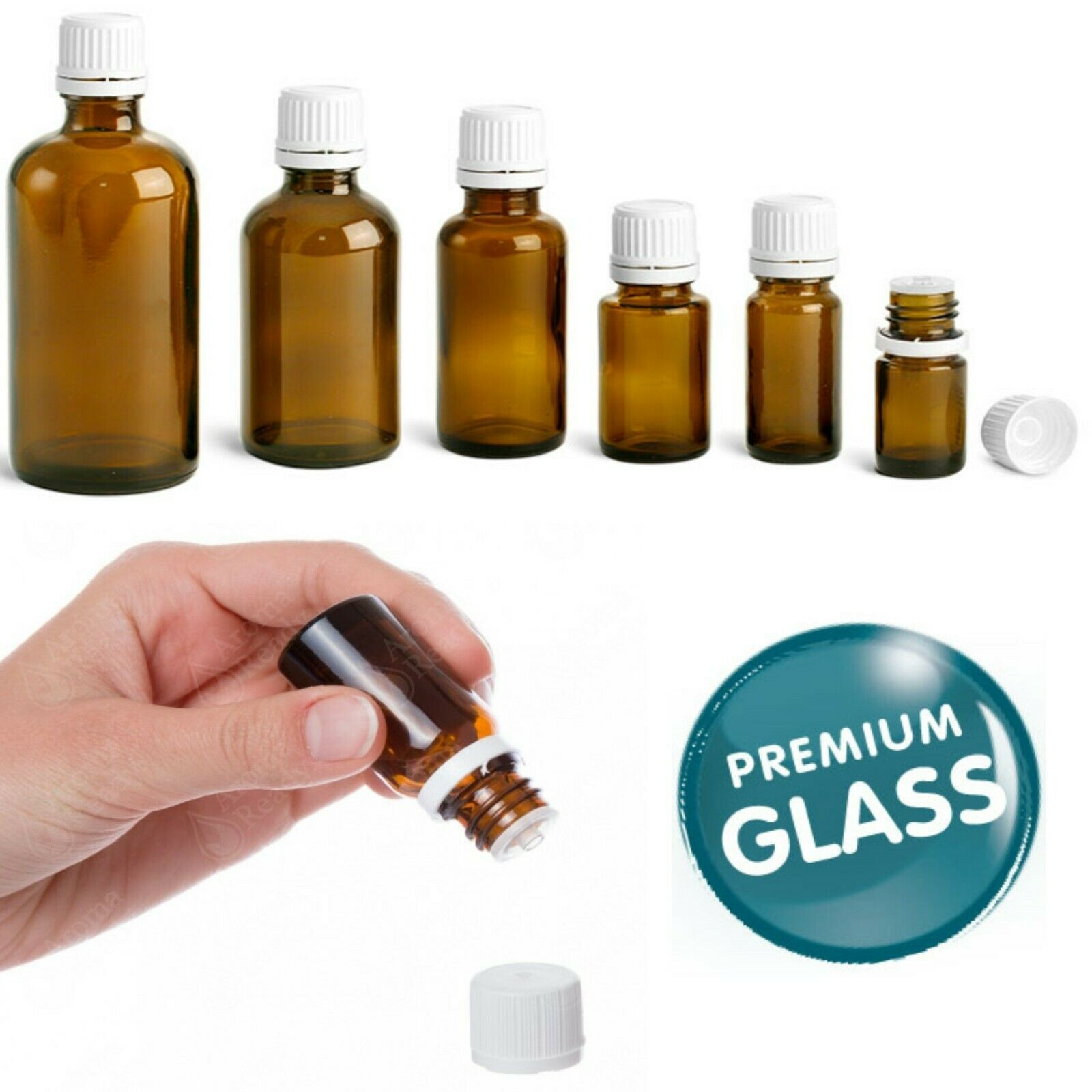 Culinaire 24 Pack Of 2 oz Blue Glass Bottles with Spray Tops and Gold Glass Pen