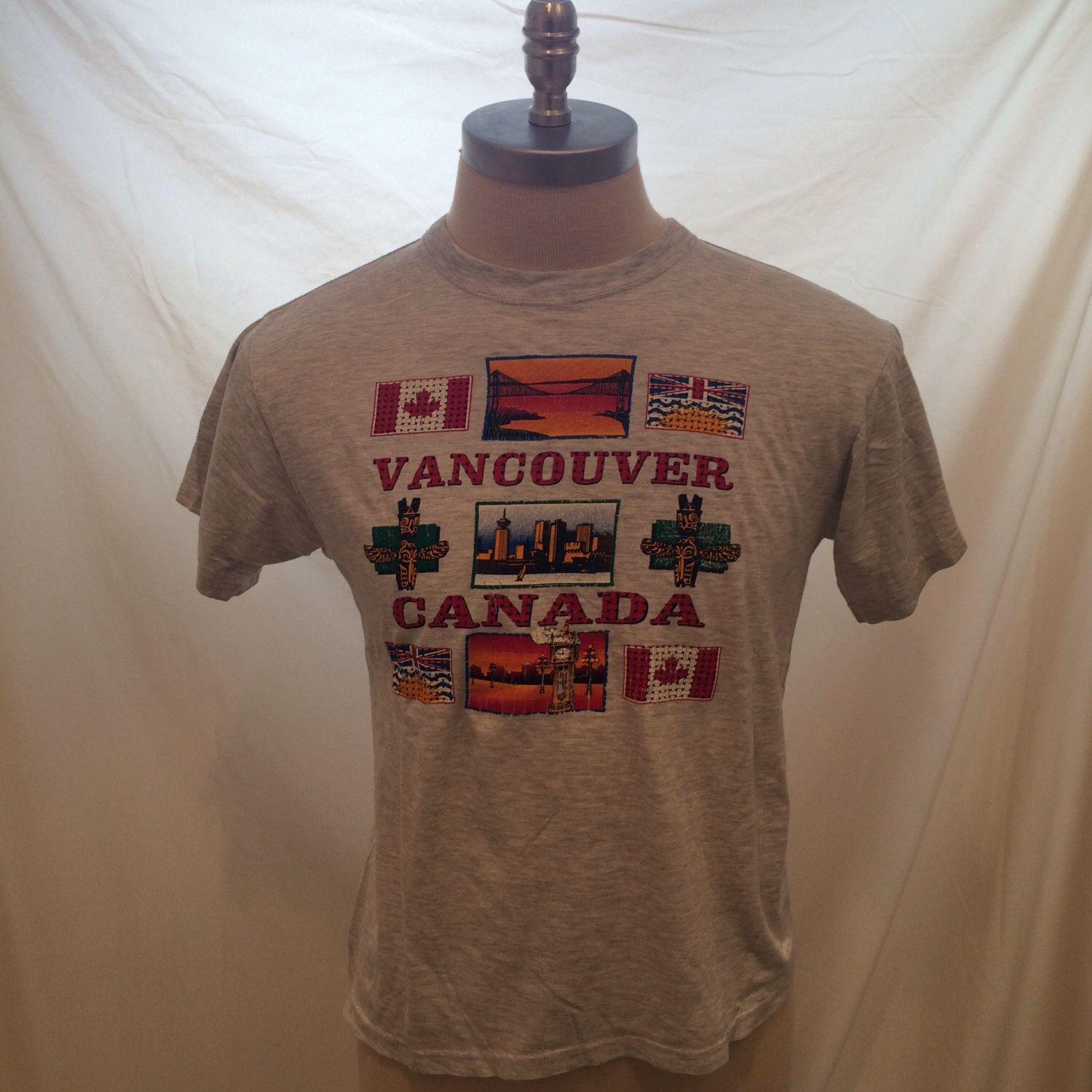 80s Vancouver Canada Vintage T Shirt T M Tees Size M Made In Canada Vintage Tshirts T Shirt Shirts