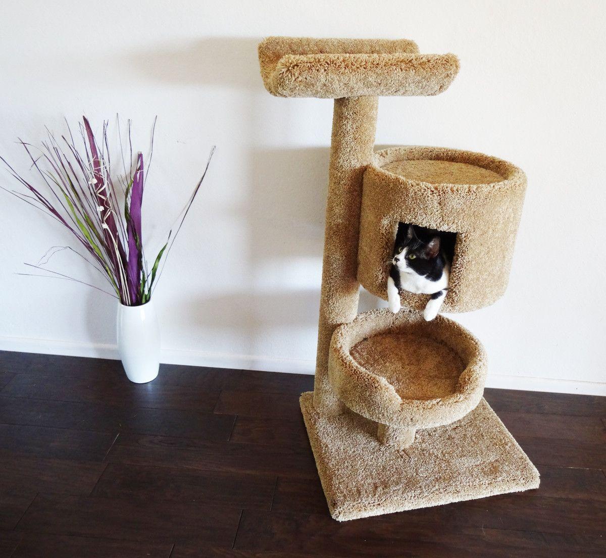 New Cat Condos 45 Premier Cat Bungalow Cat Tree Cat Tree Cat Condo Classy Furniture