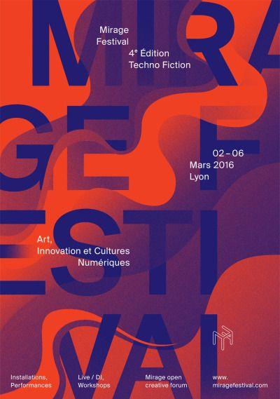 4fb19cc2d50 L identité visuelle 2016 - Mirage Festival