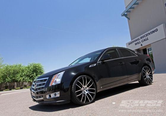 Rims On 2010 Cts 2010 Cadillac Cts With 22 Giovanna Kilis In