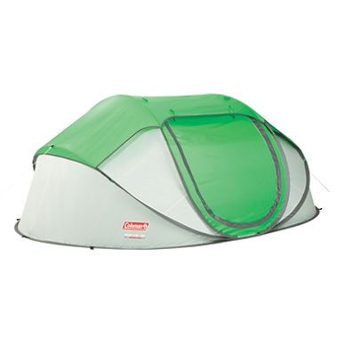 Coleman Popup 4 Person Tent With Images Pop Up Tent 4