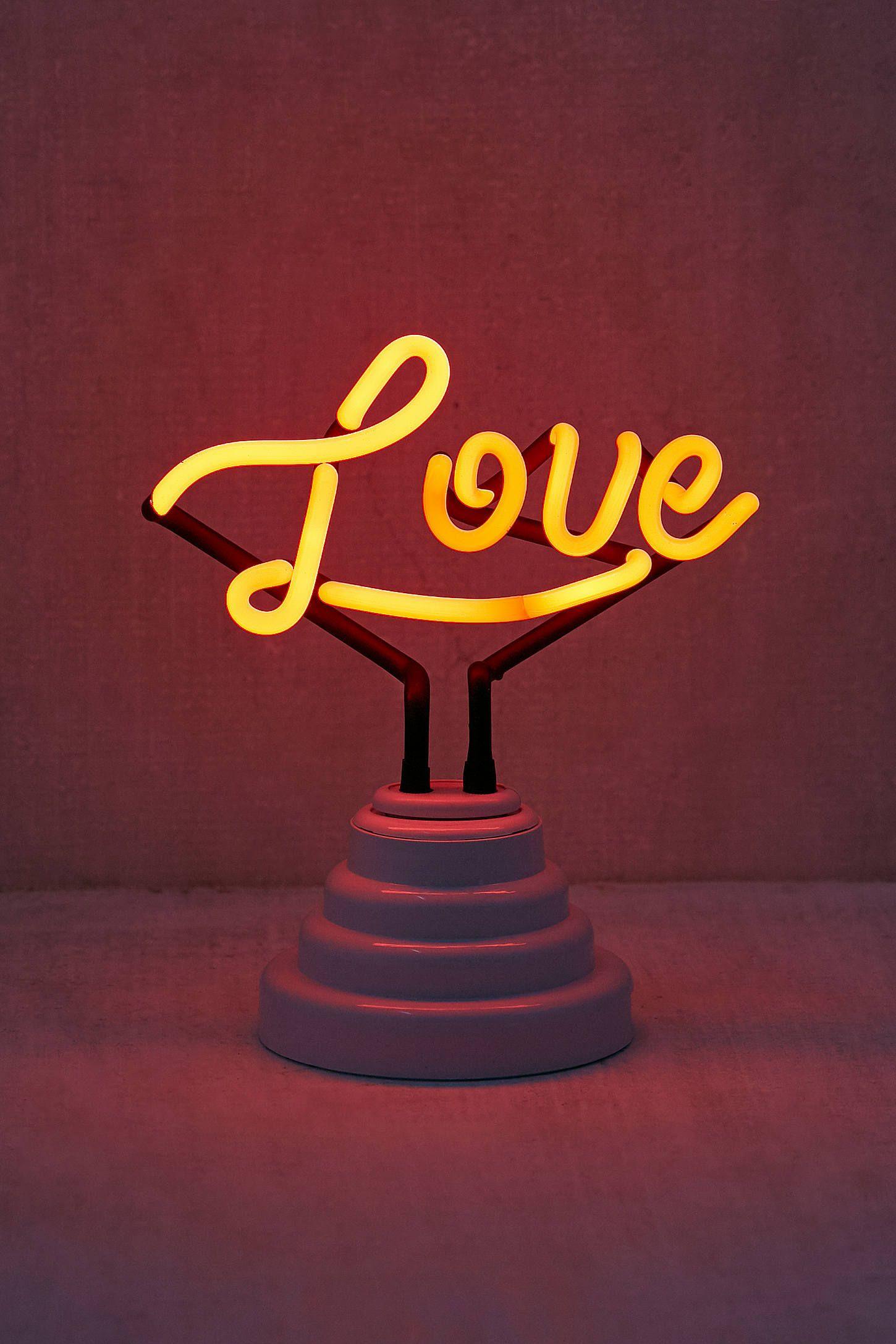 Neon Table Light: Neon Signs, Love Neon Sign, Lamp