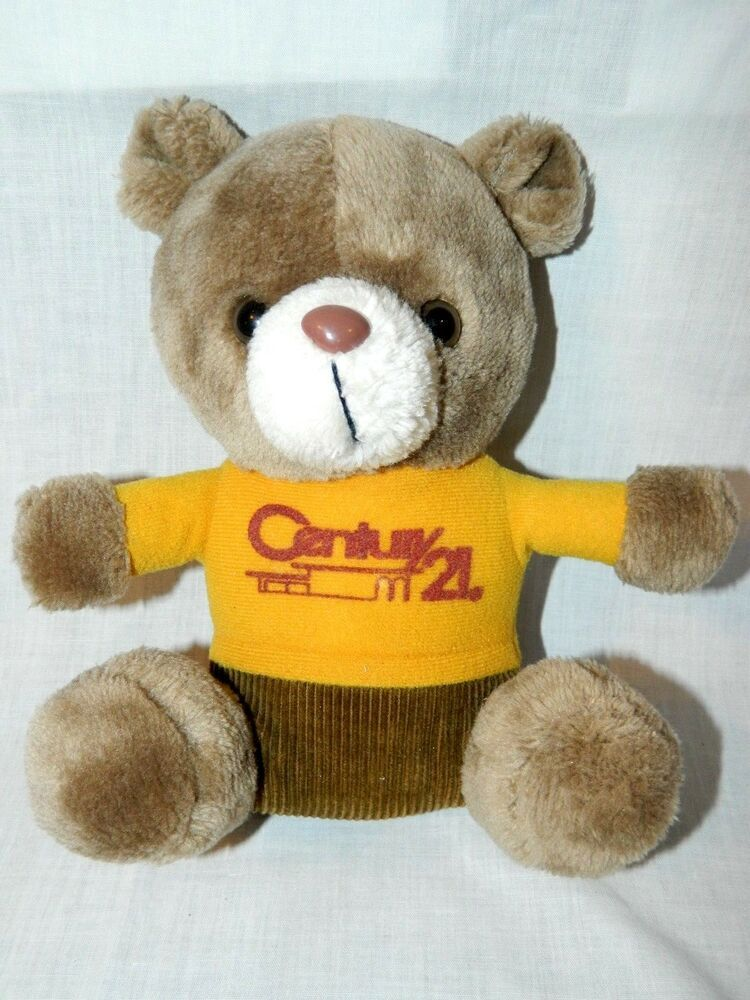 aba743c8a09 Vintage 80s Century 21 Real Estate Teddy Bear Promotional Plush 10