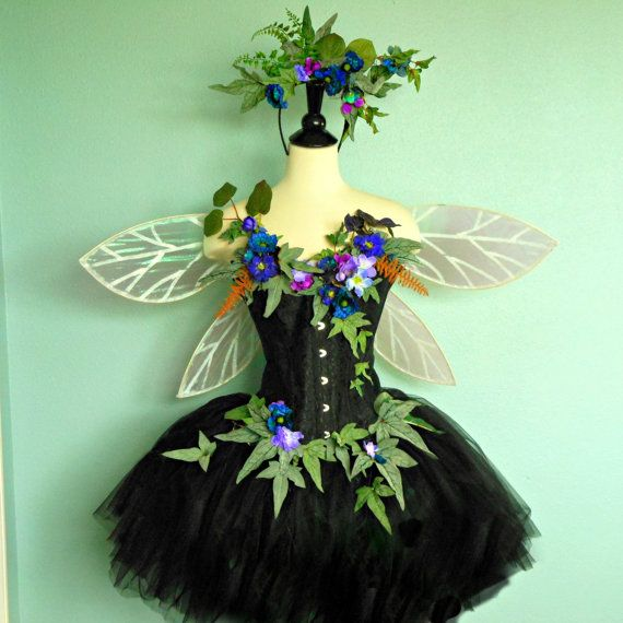 Fairy Costume - The Himalayan Poppy Faerie of the Moonlight Garden ...